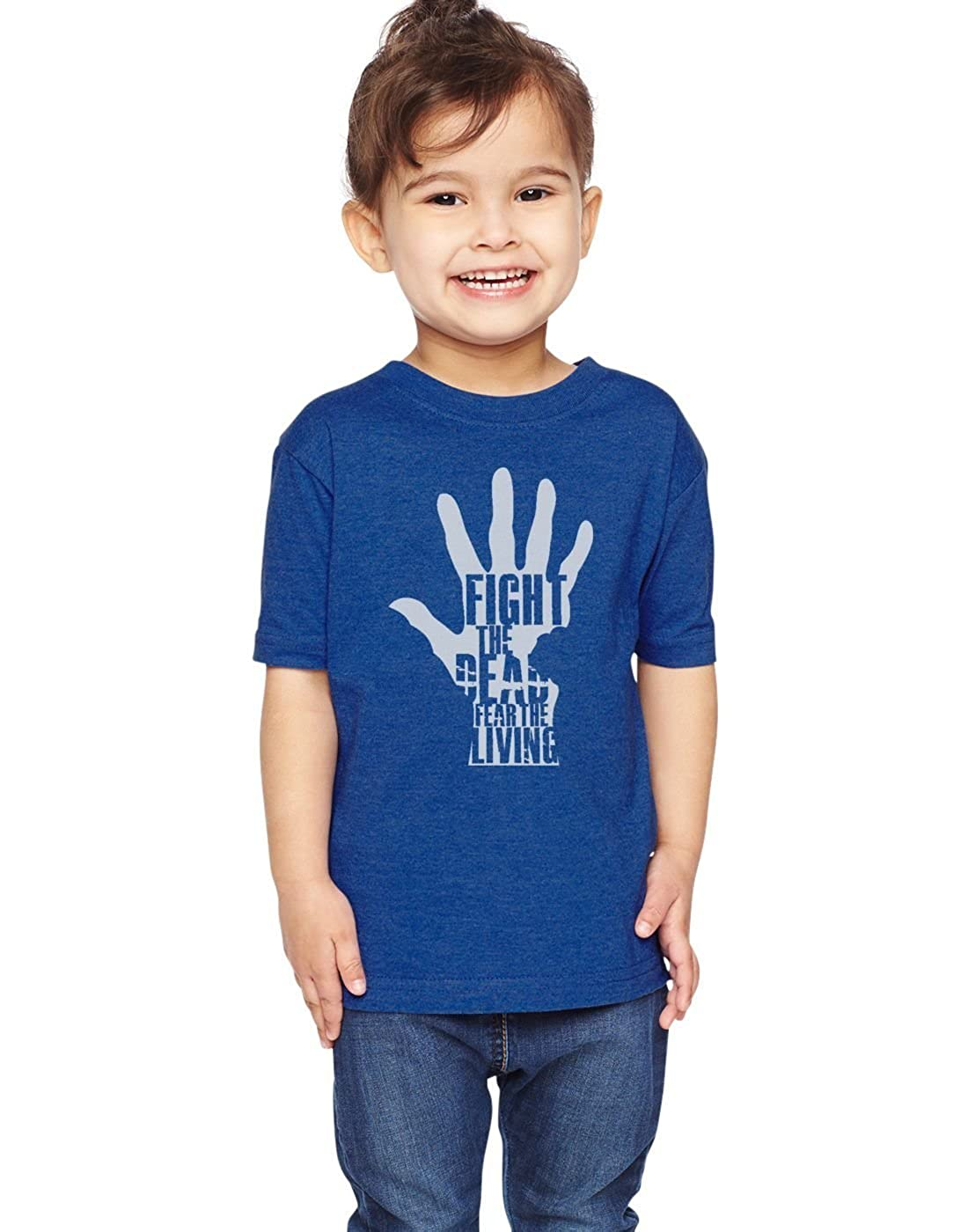 Fight The Dead Fear The Living Unisex Toddler Shirt