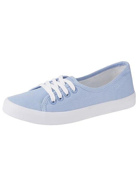 Sneakers blu per donna Oodji eseDLR2B1