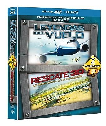 Pack: Leyendas Del Vuelo + Rescate [Blu-ray]: Amazon.es: Varios, Varios: Cine y Series TV