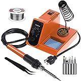 Vastar Soldering Iron - Soldering Iron Station, Anti-Static Soldering Iron Station Kit with On-Off Switch Temperature Adjusta