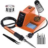 Vastar Soldering Iron, Soldering Iron Station, Anti-Static Soldering Iron Station Kit with On-Off Switch Temperature…