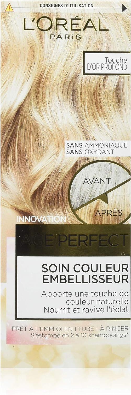 L Oréal Paris Age Perfect Cuidado Color embellisseur Touche oro profundo 80 ml – juego de 3