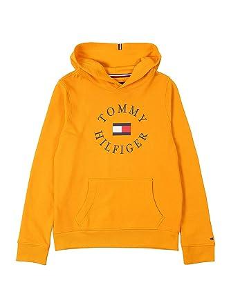 Tommy Hilfiger Sudadera Logo Amarillo para Niã±o: Amazon.es: Ropa y accesorios