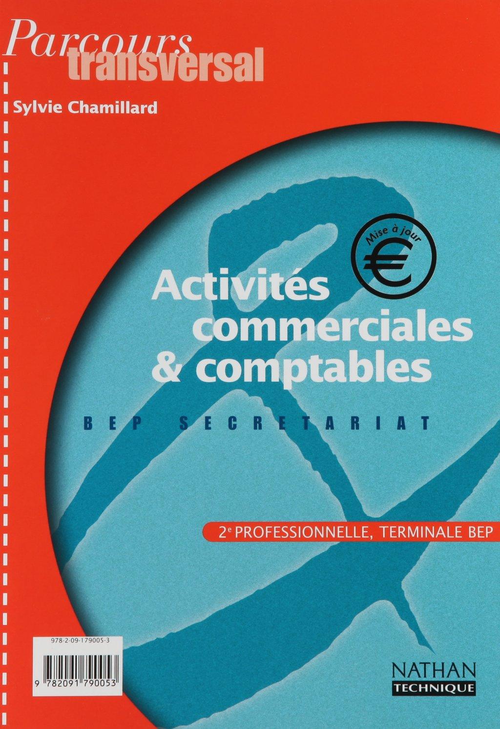 Amazon Fr Activites Commerciales Et Comptables Parcours Transversal 2nde Pro Term Bep Secretariat Edition 2001 Chamillard Sylvie Livres