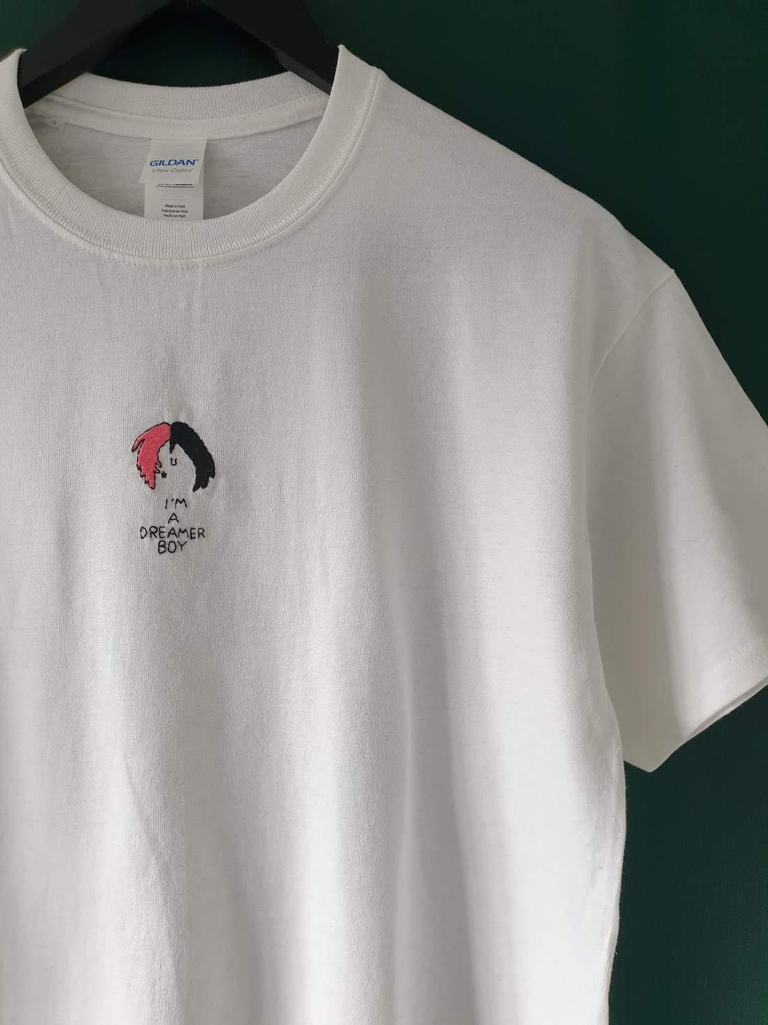 Lil Peep Beamer Boy Lyric T-shirt A5 Print
