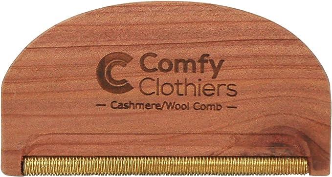 6. Comfy Clothiers Cedar Cashmere/Wool Comb