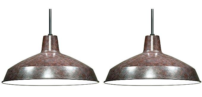 Amazon.com: Lámpara Nuvo tipo granjero, 76/662, 150.0 ...