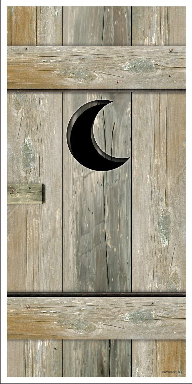 Outhouse Door Cover Party Accessory (3-Pack)