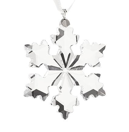 b5fd49b1d Amazon.com: Swarovski Annual Edition 2016 Little Snowflake Ornament: Home &  Kitchen