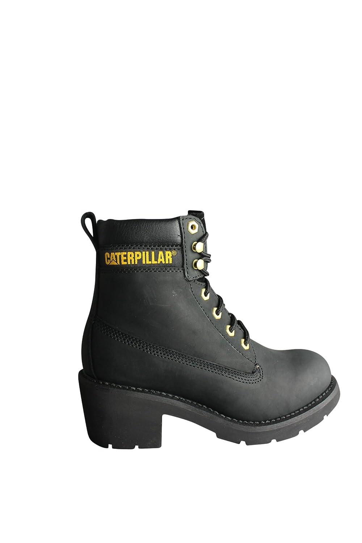 07bfe1be37c Caterpillar CAT Ottawa Womens Black Lace Up Walking Boots Shoes:  Amazon.co.uk: Shoes & Bags