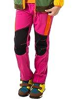 Makino Kids' Outdoor Hiking Soft-shell Windproof Pants 2027-3