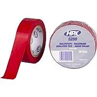 HPX MIR1910- Cinta aislante, color Rojo, 1 Unidad