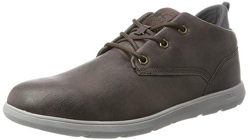 British Knights Herren Calix Hohe Sneaker, Braun (Dk Brown), 43 EU 3699a15458