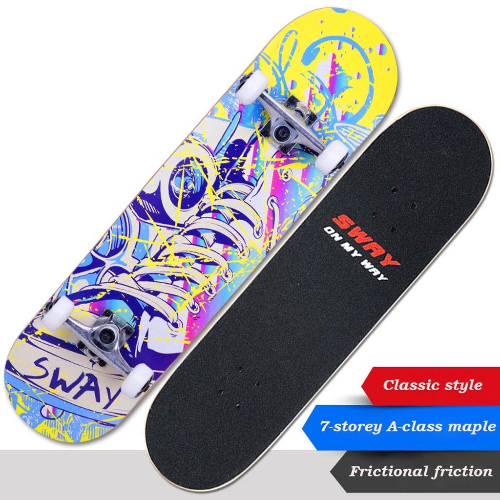 【代引可】 Nanle パーソナライズされた若者の活気のあるファッションを作成するプロフェッショナルメープルウッド四輪スケートボードブラシ B07F8TFZS4 B07F8TFZS4 B Style Style B Style B, 和歌山県:d61c8322 --- a0267596.xsph.ru