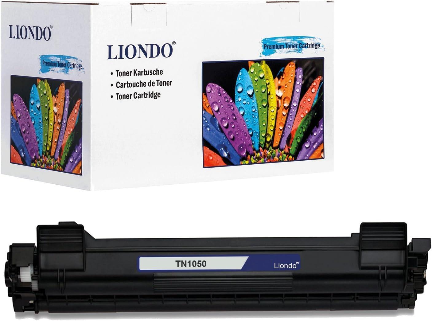 Liondo Toner Kompatibel Zu Brother Tn 1050 Tn 1075 Hl 1110 Hl 1112 Dcp 1510 Dcp 1512 Mfc 1810 Laser Multifunktionsdrucker Schwarz 1 500 Seiten Bürobedarf Schreibwaren