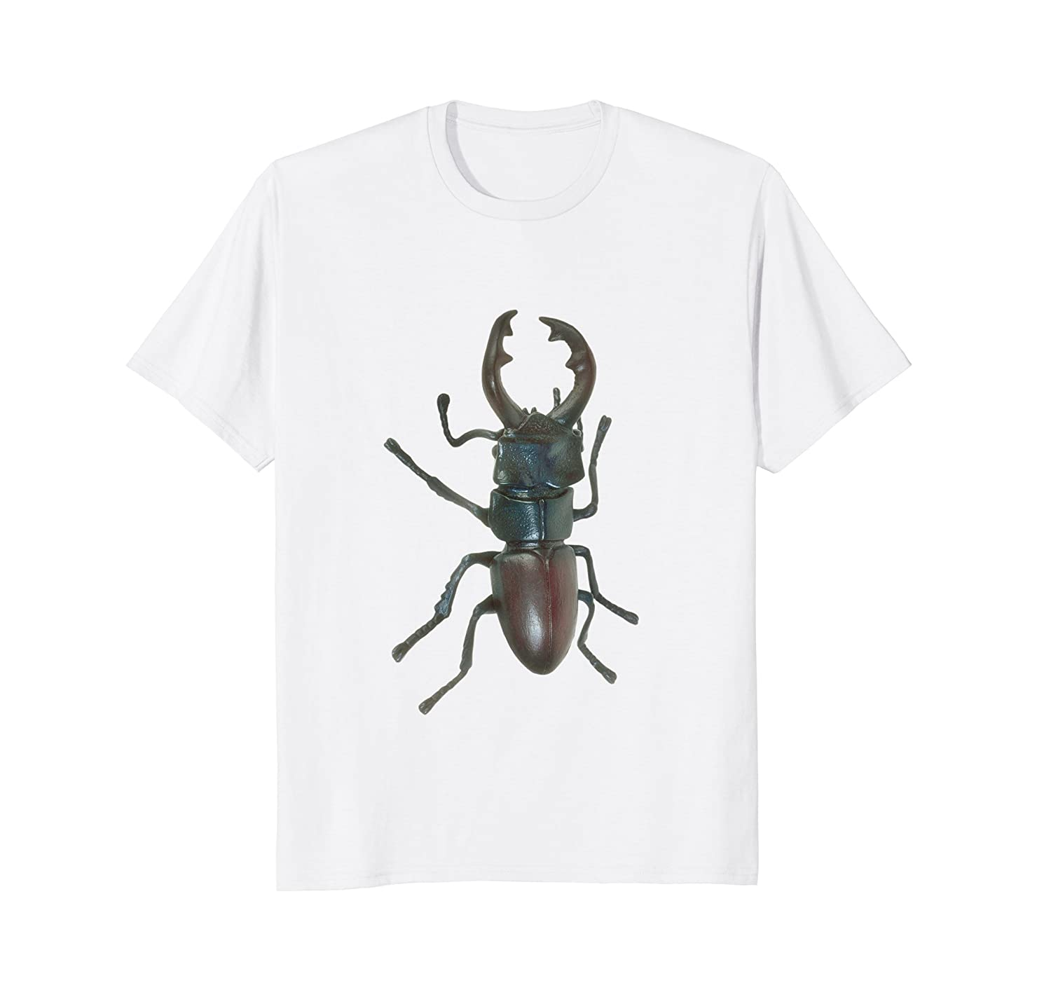 Stag Beetle Insect Entomology T-Shirt-anz