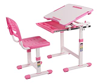wymo kids ergonomic adjustable childrens desk chair with drawing paper roll pink - Drawing Paper For Kids