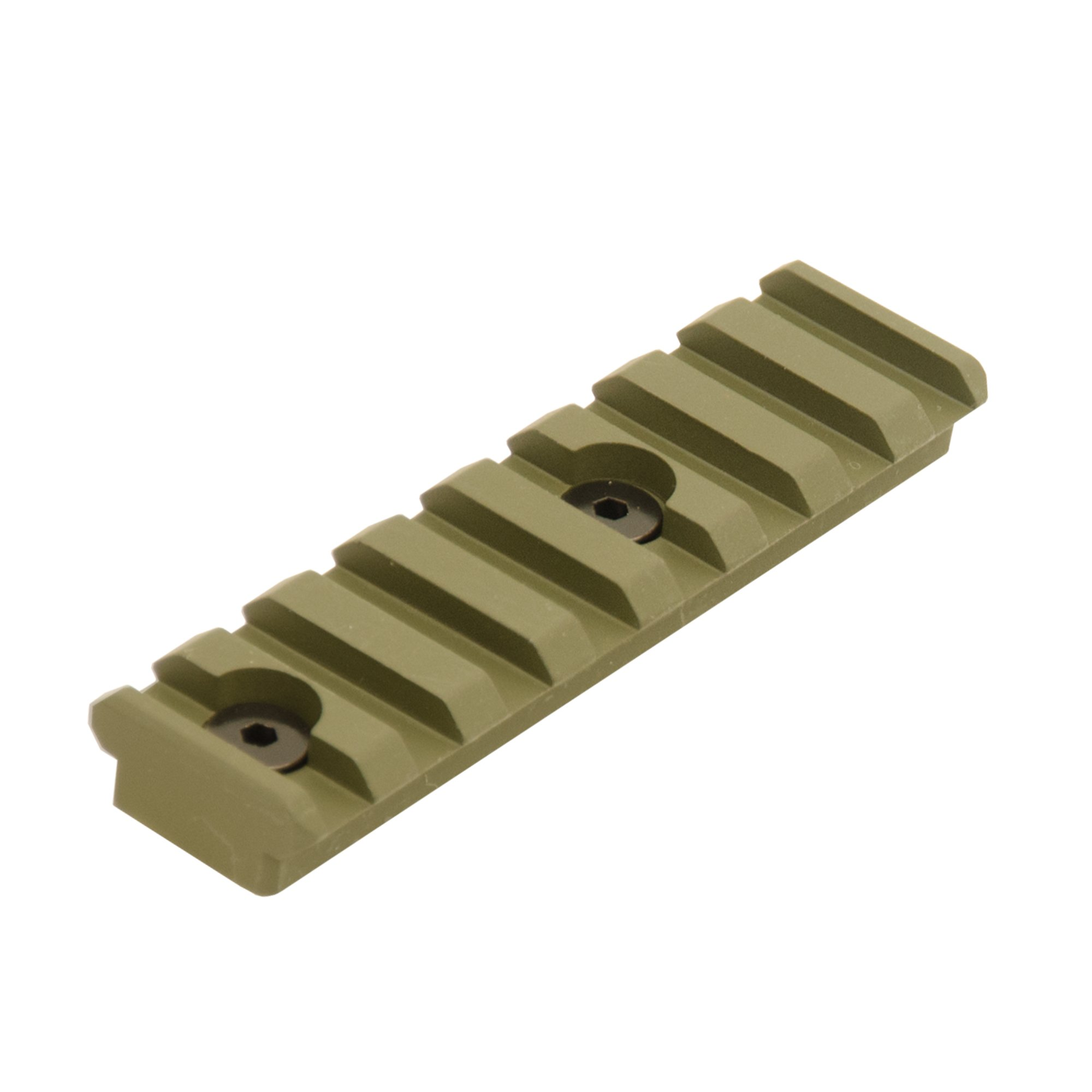 UTG PRO 8-Slot Keymod Picatinny Rail Section-OD Green