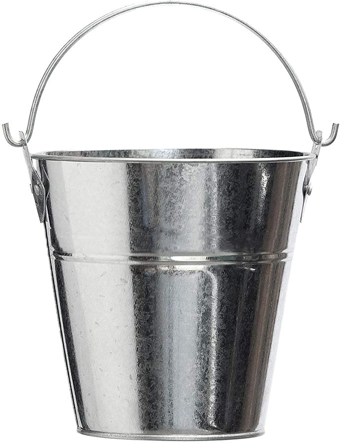 BBQ Butler Steel Grease Bucket for Grill/Smoker - Galvanized Drip Buckets - Small Bucket- Pellet Grill Accessories - Traeger, Pit Boss Grills - Metal Pail with Handle - Dripping Pail - 2 Quart Size