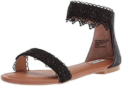 Not Rated Women's Shala Flat Sandal, Black, ...