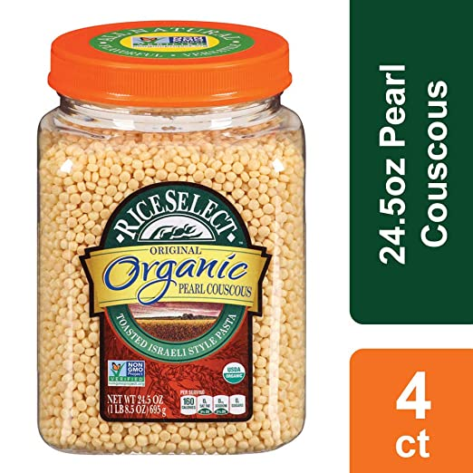Amazon Riceselect Original Couscous 265 Ounce Jars Pack Of