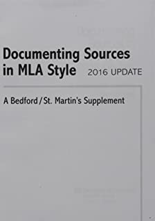 Amazon reading critically writing well 9781457638947 rise b documenting sources in mla style 2016 update a bedfordst martins supplement fandeluxe Gallery
