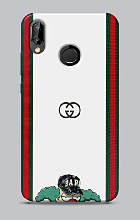PhoneCasing – Carcasa de TPU Huawei P20 Lite Logos 115 Crusty il Payaso Bape Gucci