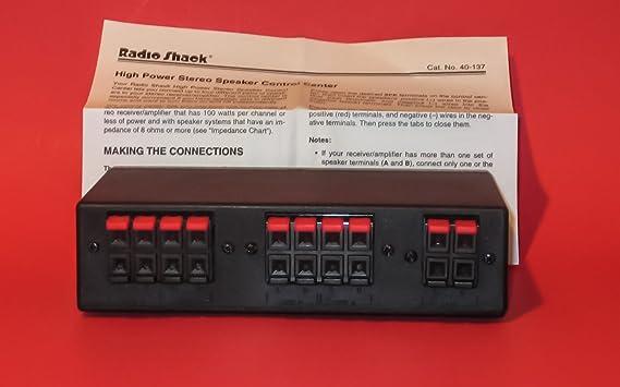 Amazon.com: clásico Radio Shack Alta Potencia de Audio ...