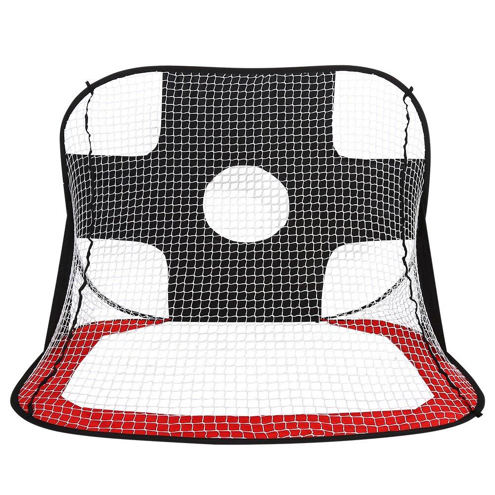 Dioche Soccer Goal Net, Portable Pop Up Kids Soccer Target Net Foldable Soccer Training Practice Gate Net