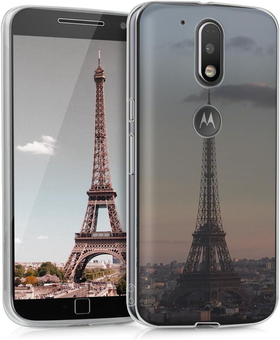 kwmobile Funda Compatible con Motorola Moto G4 / Moto G4 Plus: Amazon.es: Electrónica