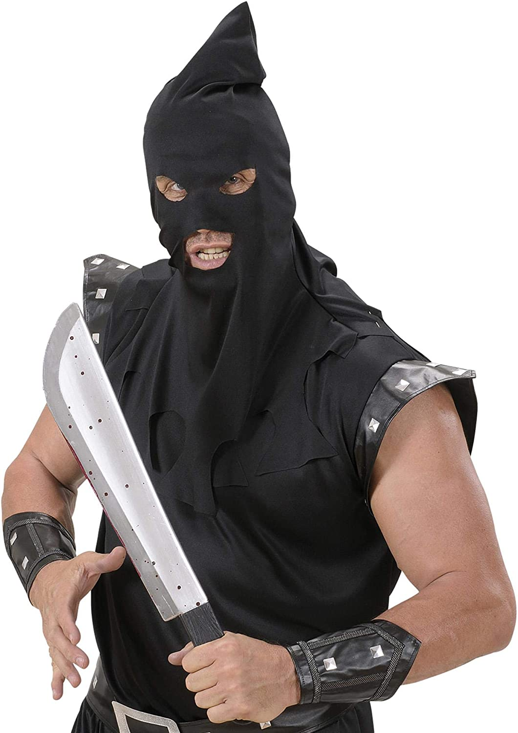 Bloody Machetes 54cm Halloween Novelty Toy Weapons /& Armour For Fancy Dress