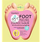 DearDerm Foot Peel Mask, Exfoliating, Moisturizing, Refreshing, Removing Calluses, Smooth, Foot Care 40g - All in one Sock-Li
