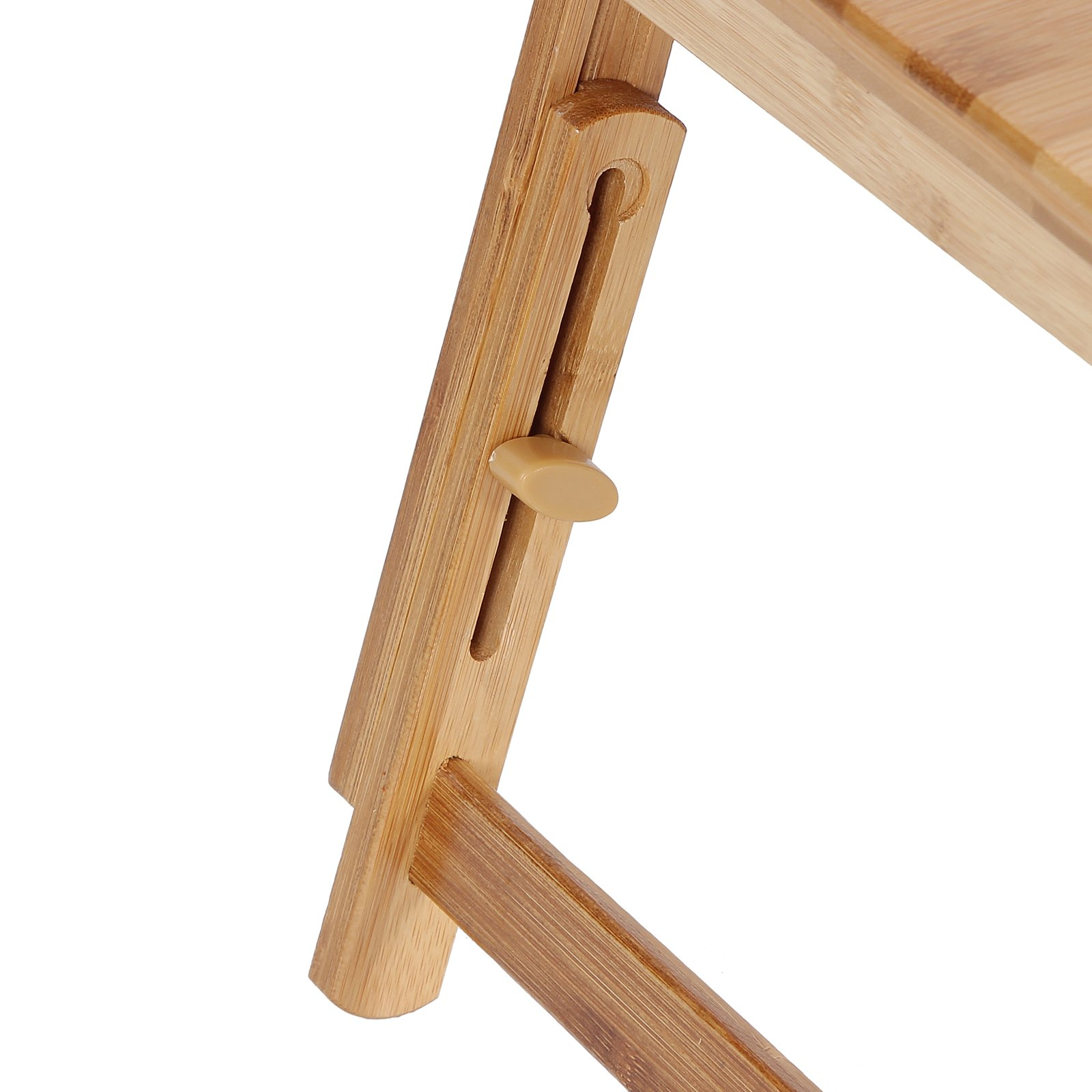 SONGMICS Bamboo Laptop Desk Serving Bed Tray Tilting Top ULLD001 by SONGMICS (Image #8)