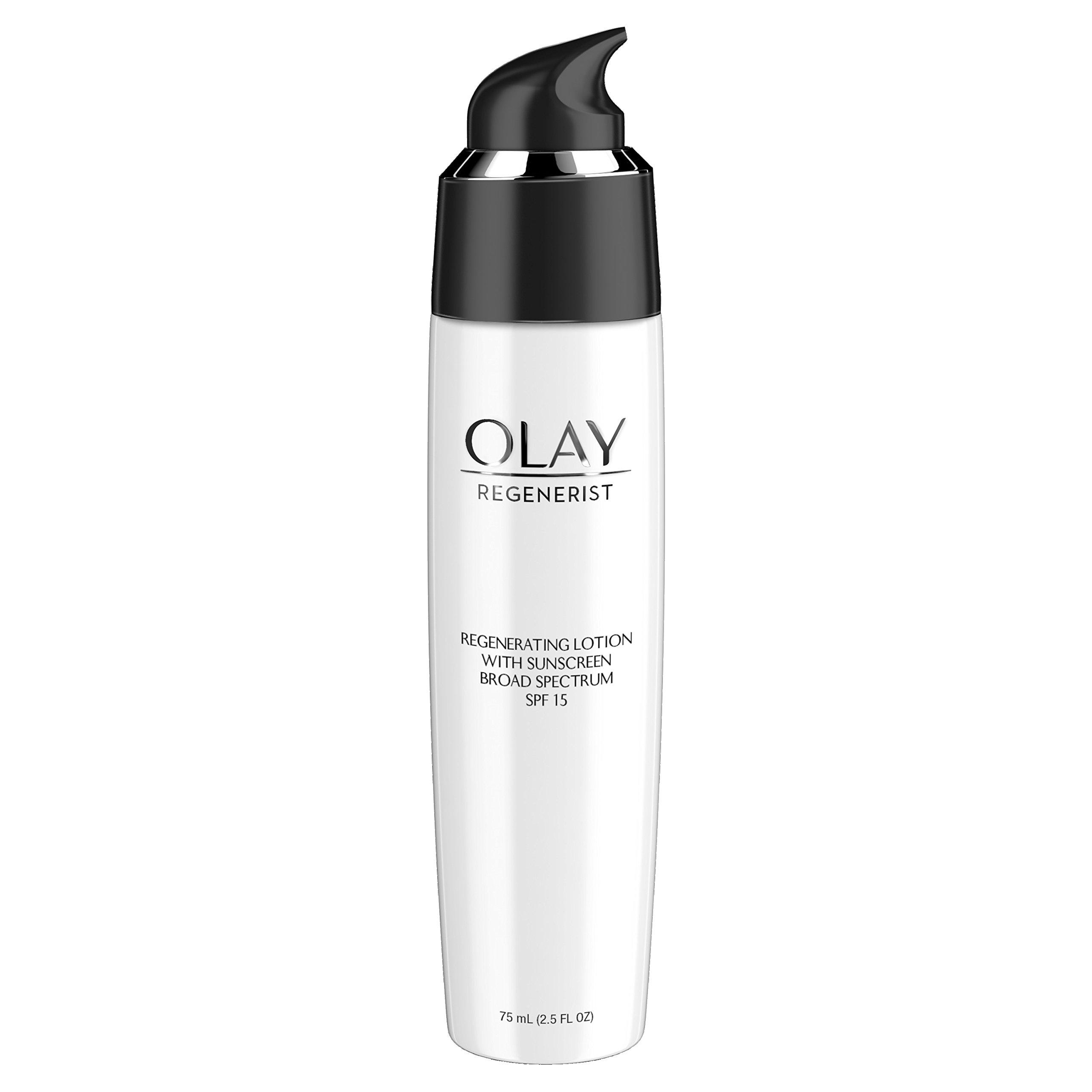 Face Moisturizer by Olay Regenerist Enhancing UV Lotion Advanced Anti-Aging 75ml by Olay