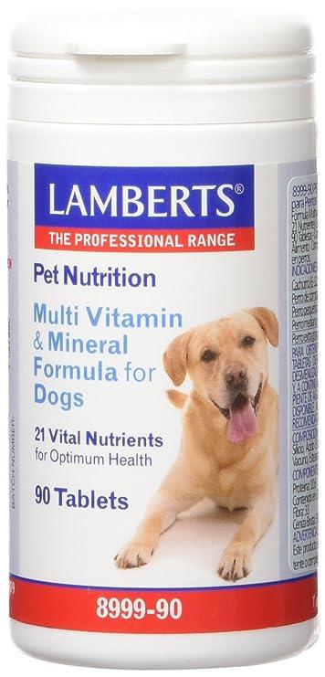 Lamberts Pet Nutrition para Perros, Combinación de Multivitaminas - 90 Tabletas: Amazon.es: Salud y cuidado personal