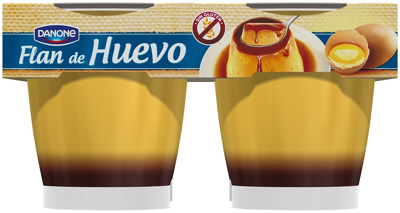 Danone De Postre - Flan De Huevo, Pack 4 x 110 g: Amazon.es: Alimentación y bebidas