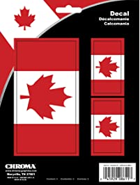 Chroma 8611 Canadian Flag Stick-Onz Decal