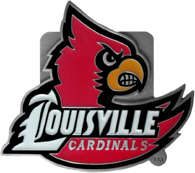 NCAA Louisville Cardinals Logo Hitch Cover Class II /& III
