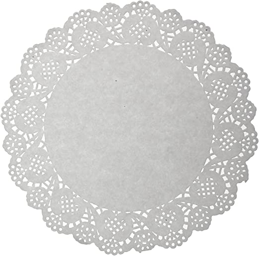 "BLACK PAPER LACE DOILIES FOR PARTIES /& CRAFTS  6/"" 13.5/"" DOILY 8.5/"""