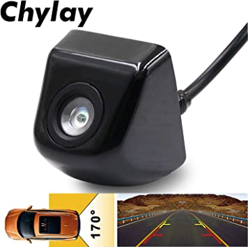 1x 170 Degree Waterproof Car Front Side Front View Reverse Backup Camera Parking