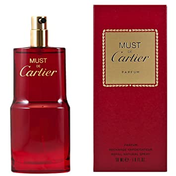 Amazoncom Cartier Must De Cartier For Women Parfum 16 Ounce