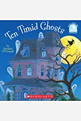 Ten Timid Ghosts (Read with Me Cartwheel Books (Scholastic Paperback)) Paperback