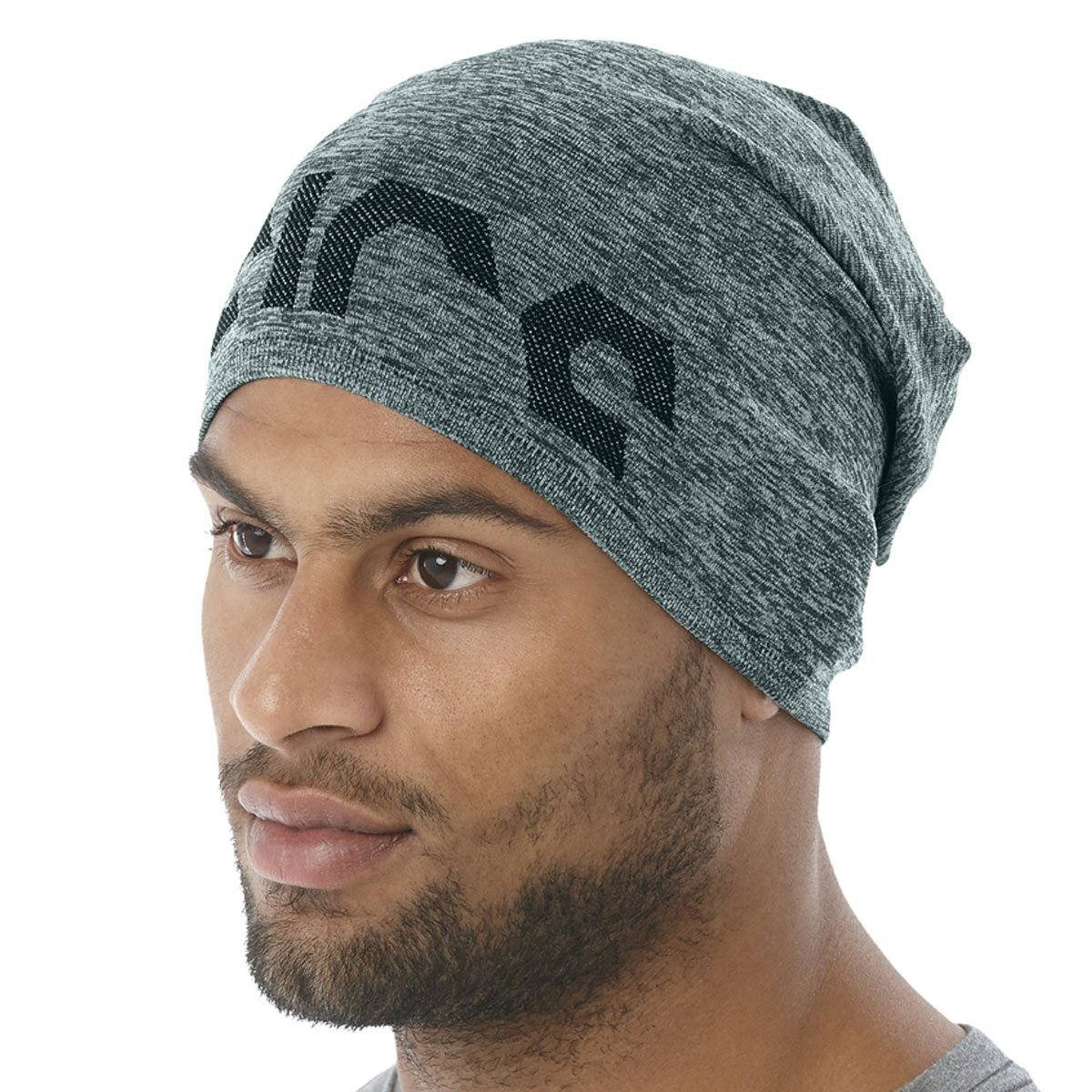 ASICS PFM Slouch Beanie Hampton Grün Heather