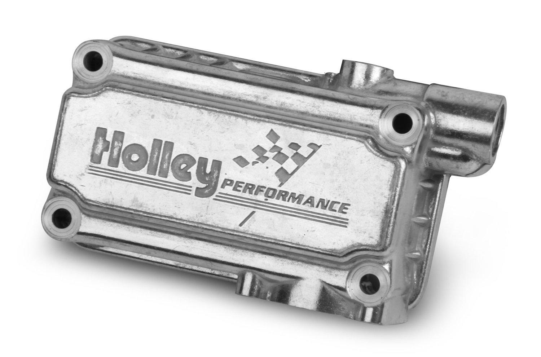 Holley 134-76S Aluminum Shiny Finish Fuel Bowl Kit