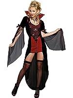 6f05aa2aa0 Amazon.com  Sunnywood Women s Lava Diva Female Vampire Costume  Clothing