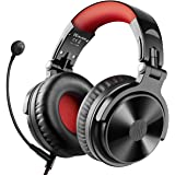 Bluetooth Over Ear Headphones with 80 Hrs Playtime, OneOdio Wired Gaming Stereo Headsets with Boom Mic for PS4, Xbox one…