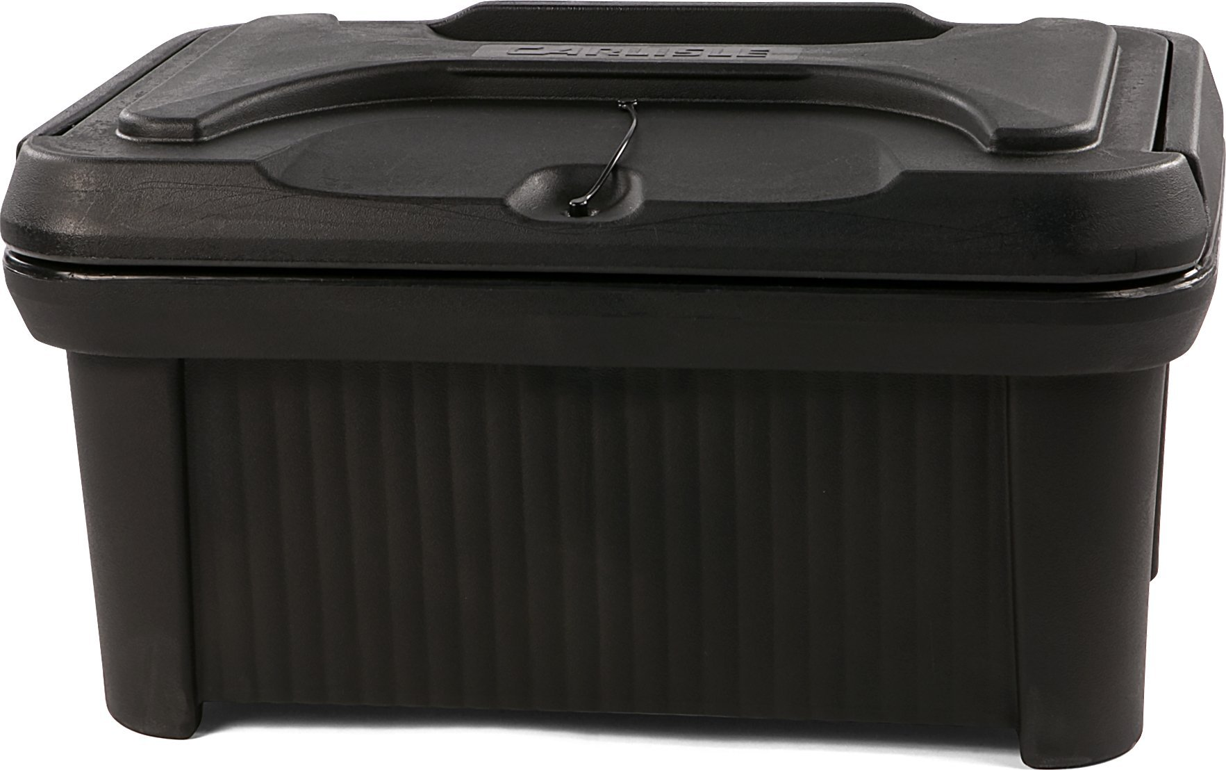 Carlisle XT180003 Cateraide Slide N Seal Polyethylene Top Loader Pan Carrier, 8'' Height, Black by Carlisle