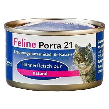 FELINE porta21 lata Atún con Algas 90 g: Amazon.es: Productos para mascotas