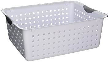 Amazon.com Sterilite Lg Wht Ultra Basket 16268006 Organizers Storage Kitchen 15 7/8 x 12 7/8 x 6 inches ; 1.1 pounds Home u0026 Kitchen  sc 1 st  Amazon.com & Amazon.com: Sterilite Lg Wht Ultra Basket 16268006 Organizers ...