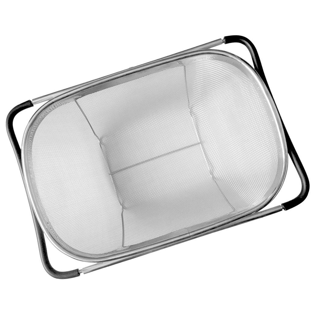 MonkeyJack Kitchen Sink Drain Basket Storage Rack Pull Retractable Rack 34x24cm